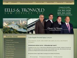 Eells & Tronvold Law Offices, P.L.C. (Iowa City, Iowa)