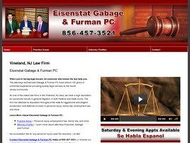 Eisenstat, Gabage & Furman A Professional Corporation (Vineland, New Jersey)