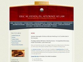Eric M. Steven, P.S. Attorney at Law (Spokane Co., Washington)