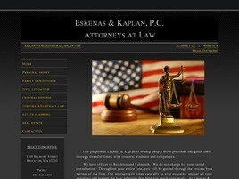 Eskenas & Kaplan, P.C. Attorneys at Law (Plymouth Co., Massachusetts)