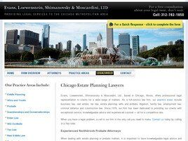 Evans, Loewenstein, Shimanovsky & Moscardini, Ltd. (Chicago, Illinois)
