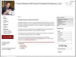 F. Truett Nettles II Of Counsel Grimball & Cabaniss, LLC (Mt Pleasant, South Carolina)