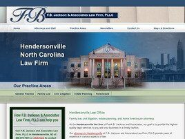 F.B. Jackson and Associates Law Firm, PLLC (Hendersonville, North Carolina)