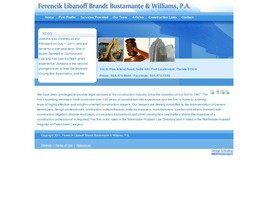 Ferencik Libanoff Brandt Bustamante and Williams, P.A. (Fort Lauderdale, Florida)