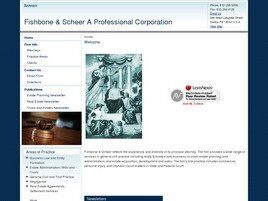 Fishbone & Scheer A Professional Corporation (Northampton Co., Pennsylvania)