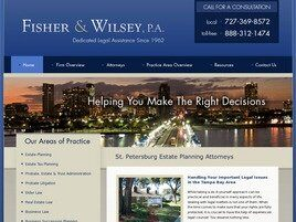 Fisher and Wilsey, P.A. (Clearwater, Florida)