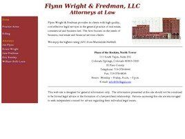 Flynn Wright & Fredman, LLC (Colorado Springs, Colorado)