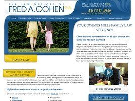 Fred A. Cohen, P.A. (Harford Co., Maryland)