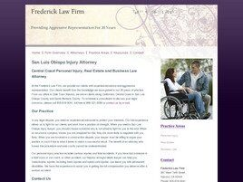 Frederick Law Firm (Nipomo, California)