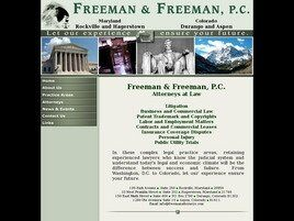 Freeman & Freeman, P.C. (Rockville, Maryland)