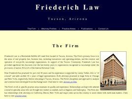 Friederich Law (Tucson, Arizona)