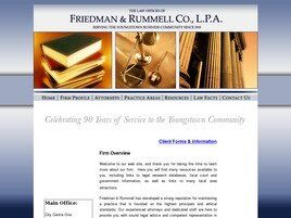 Friedman & Rummell Co., L.P.A. (Mahoning Co., Ohio)