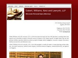 Gabert, Williams, Konz & Lawrynk, LLP (Menasha, Wisconsin)