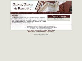 Gaines, Gaines & Rasco, P.C. (Anniston, Alabama)