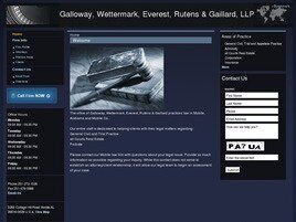 Galloway, Wettermark, Everest, Rutens & Gaillard, LLP (Mobile, Alabama)