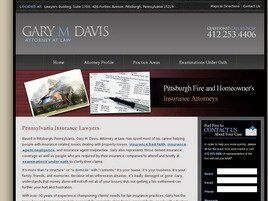 Gary M. Davis, Attorney at Law (Pittsburgh, Pennsylvania)