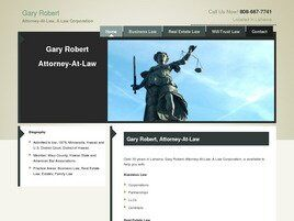 Gary Robert Attorney At Law A Law Corporation (Lahaina, Hawaii)