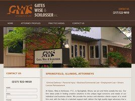 Gates, Wise & Schlosser, P.C. (Sangamon Co., Illinois)
