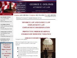 George E. Golomb Attorney at Law (Towson, Maryland)