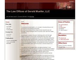 The Law Offices of Gerald D. Mueller, LLC (Columbia, Missouri)