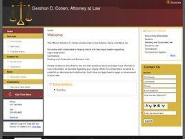 Gershon D. Cohen, Attorney at Law (El Paso, Texas)