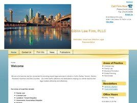 Giblin Law Firm, PLLC (Dallas, Texas)