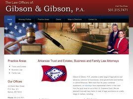 Gibson & Gibson, P.A. (Hot Springs, Arkansas)