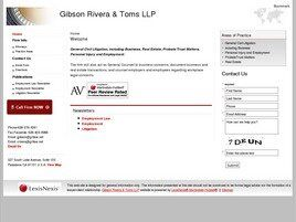 Gibson Rivera & Toms LLP (Los Angeles Co., California)