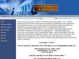 Gilbert B. Abramson & Associates, LLC (Philadelphia, Pennsylvania)