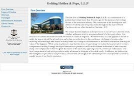 Golding Holden & Pope, L.L.P. (Charlotte, North Carolina)
