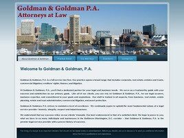 Goldman & Goldman, P.A. (Baltimore, Maryland)