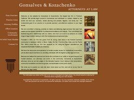 Gonsalves & Kozachenko (Alameda Co., California)