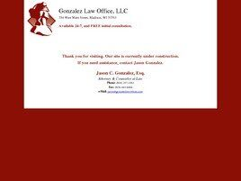 Gonzalez Law Office, LLC (Dane Co., Wisconsin)