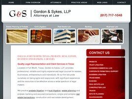 Gordon & Sykes LLP (Fort Worth, Texas)