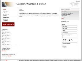 Gozigian, Washburn & Clinton (Utica, New York)