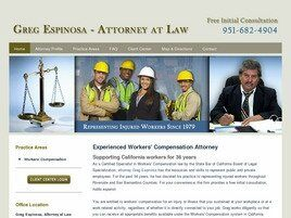 Greg Espinosa, Attorney at Law (Riverside, California)