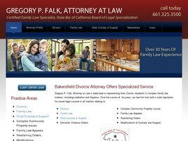 Gregory P. Falk, Attorney at Law (Kern Co., California)