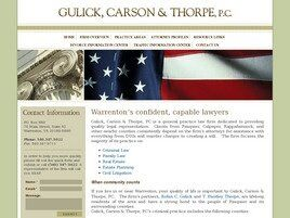Gulick, Carson & Thorpe, P.C. (Warrenton, Virginia)