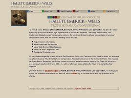 Hallett, Emerick & Wells Professional Law Corporation (San Bernardino, California)