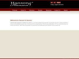 Hanson and Hanson Attorneys at Law, P.C. (Peoria, Illinois)