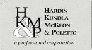 Hardin, Kundla, McKeon & Poletto, P.A. A Professional Corporation (Newark, New Jersey)