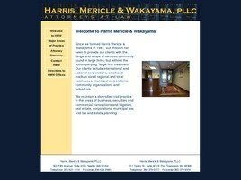 Harris, Mericle & Wakayama, P.L.L.C. (Seattle, Washington)