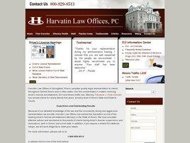 Harvatin Law Offices, PC (Peoria Co., Illinois)
