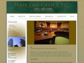 Hass Law Office, P.C. (Castle Rock, Colorado)