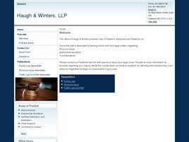 Haugh & Winters, LLP (Montgomery Co., Maryland)