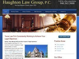 Haughton Law Group, P.C. (Denton Co., Texas)