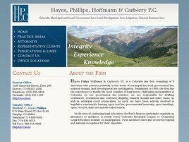 Hayes, Phillips, Hoffmann & Carberry, P.C. (Denver, Colorado)