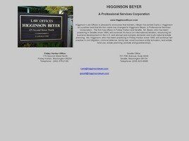 Higginson Beyer A Professional Services Corporation (Seattle, Washington)