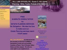 Hill Law Offices, PC (Placer Co., California)