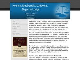 Holston, MacDonald, Uzdavinis, Ziegler & Lodge, P.A. (Woodbury, New Jersey)